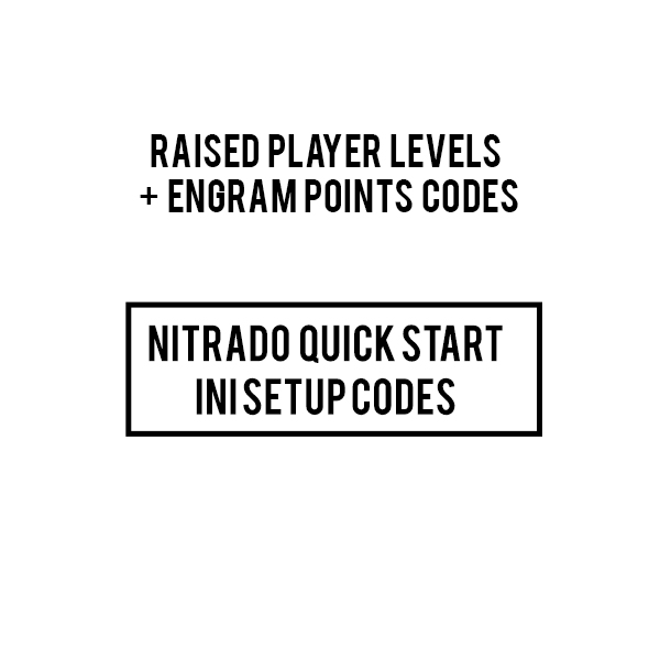 Free Raised Player Levels And Engrams Code - ARKPS4Servers com