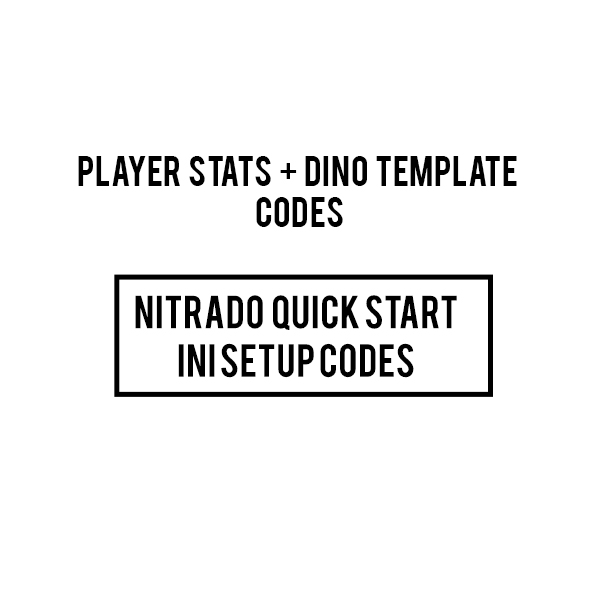 Free Player And Dino Stats Code - ARKPS4Servers com